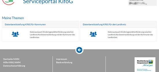Datenaustausch zwischen Kommunen und Landkreis ©LK NWM