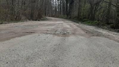 """Auf rund 500 Meter im """"Lenorenwald"""" soll die wassergebundene Oberfläche zwischen Kalkhorst und Rankendorf. durch ein Flursteinsystem ersetzt werden."""