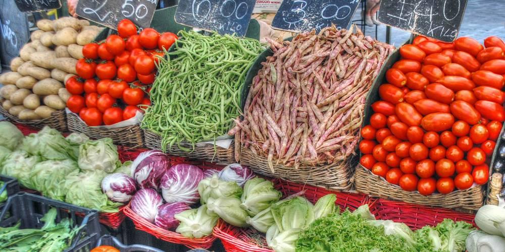 Gemüsehandel