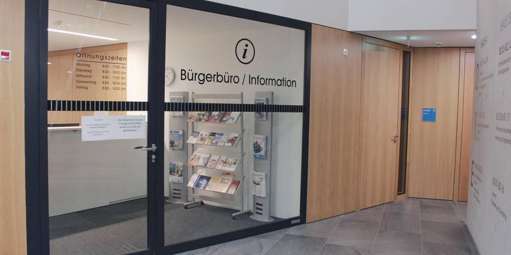 Das Bürgerbüro im Verwaltungsgebäude Wismar