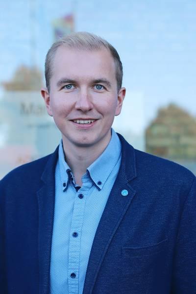 Herr Tom Brüggert, Büroleiter des Landrates