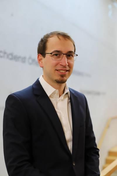 Herr Florian Haug, Leiter Brand- und Katastrophenschutz