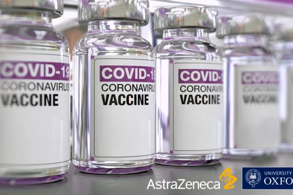 Impfphiolen von Astra Zeneca