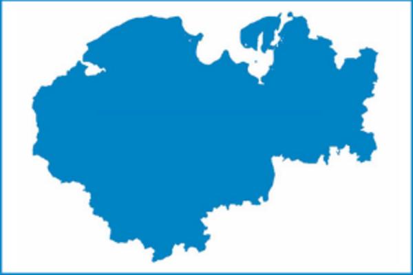 Landkreiskarte NWM